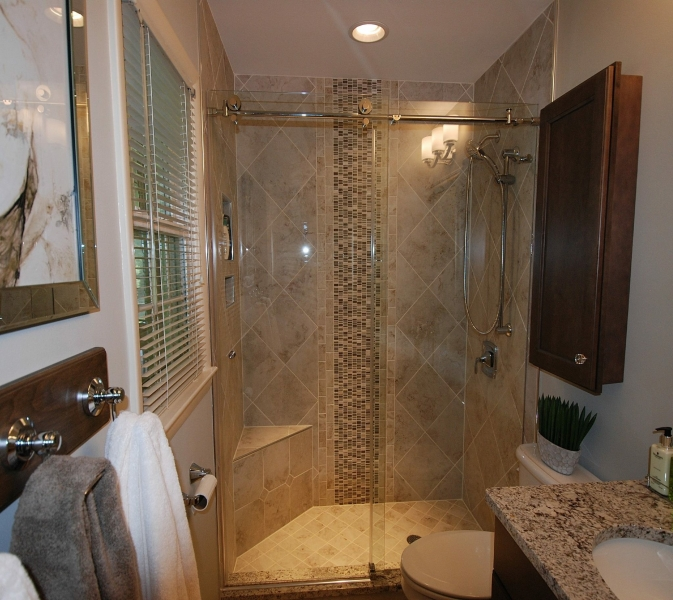 Shower upgrade to Glass Shower