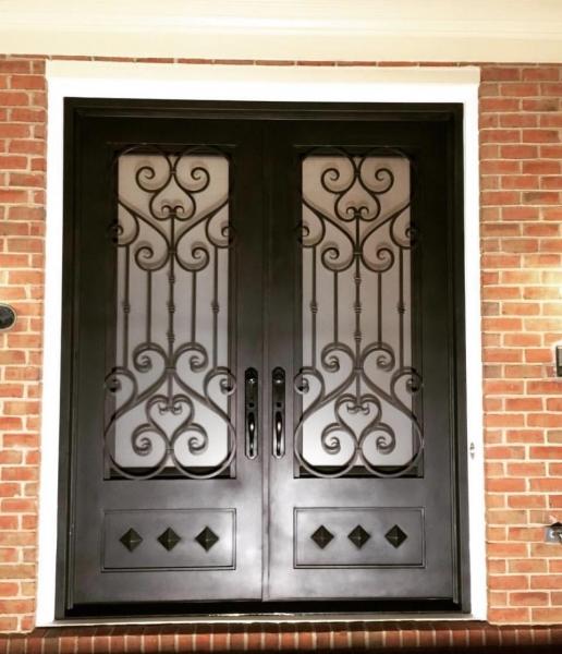 Cast Iron Front Entry Door