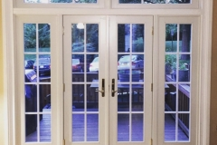 Double patio Door with Sidelites
