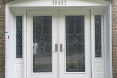 DOUBLE FRONT ENTRY WITH SIDELITES