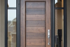 Provie Custom Entry Door with Sidelites