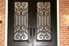 Cast Iron Front Entry Door