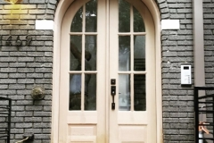Double Arched Door
