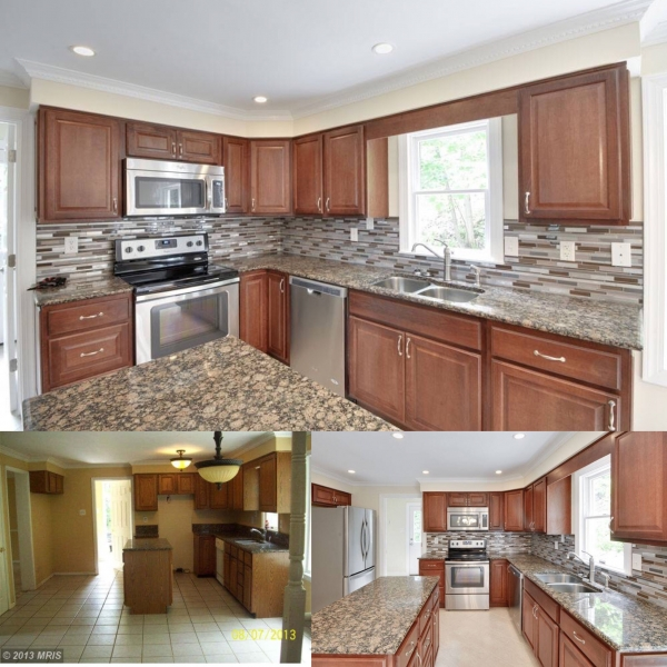 Before & After Kitchen UPDATE