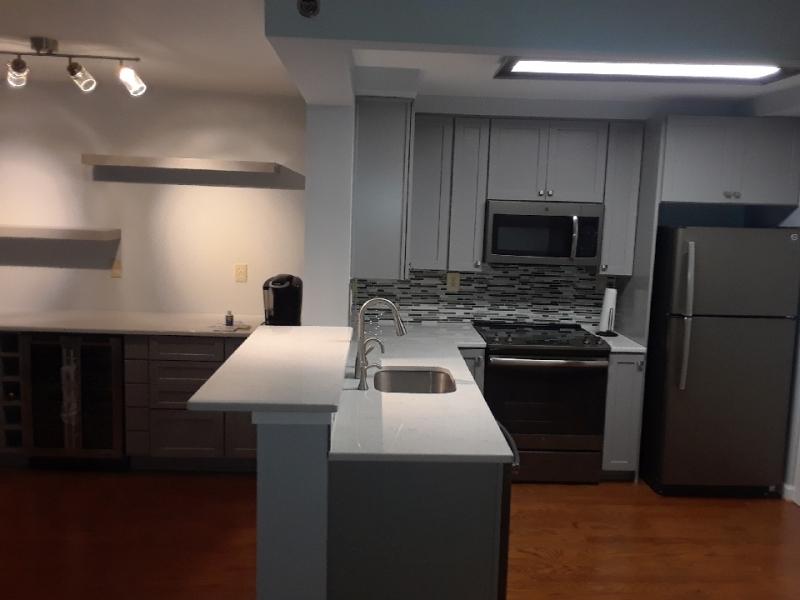Kitchen renovation and bar