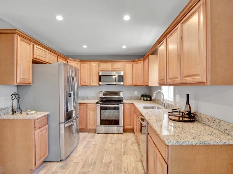 Kitchen light brown