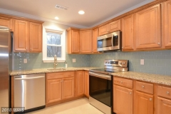 Light color scheme kitchen
